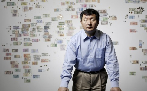 Zane Wang Zhengyu, 58, founder of China Rapid Finance, wants to offer a new business model for lending in China. Photo: SMP Pictures